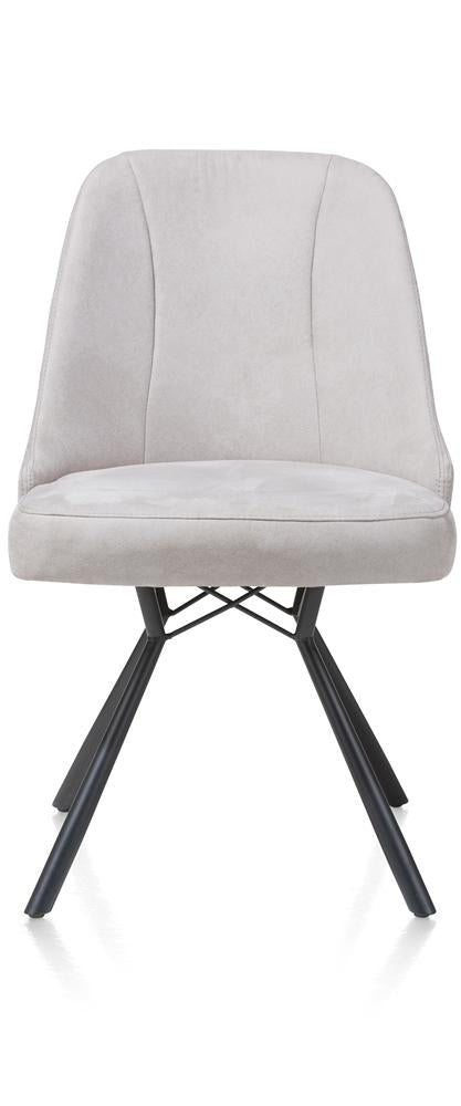 Habufa Eefje Dining Chairs-[Habufa Detroit]-[Furniture Village Detroit]-Light Grey-Against The Grain Furniture