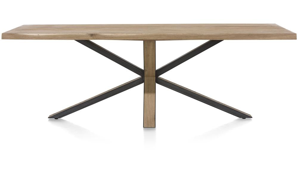 Habufa Metalox Starburst Rectangular Dining Tables-[Habufa Detroit]-[Furniture Village Detroit]-200cm-Against The Grain Furniture
