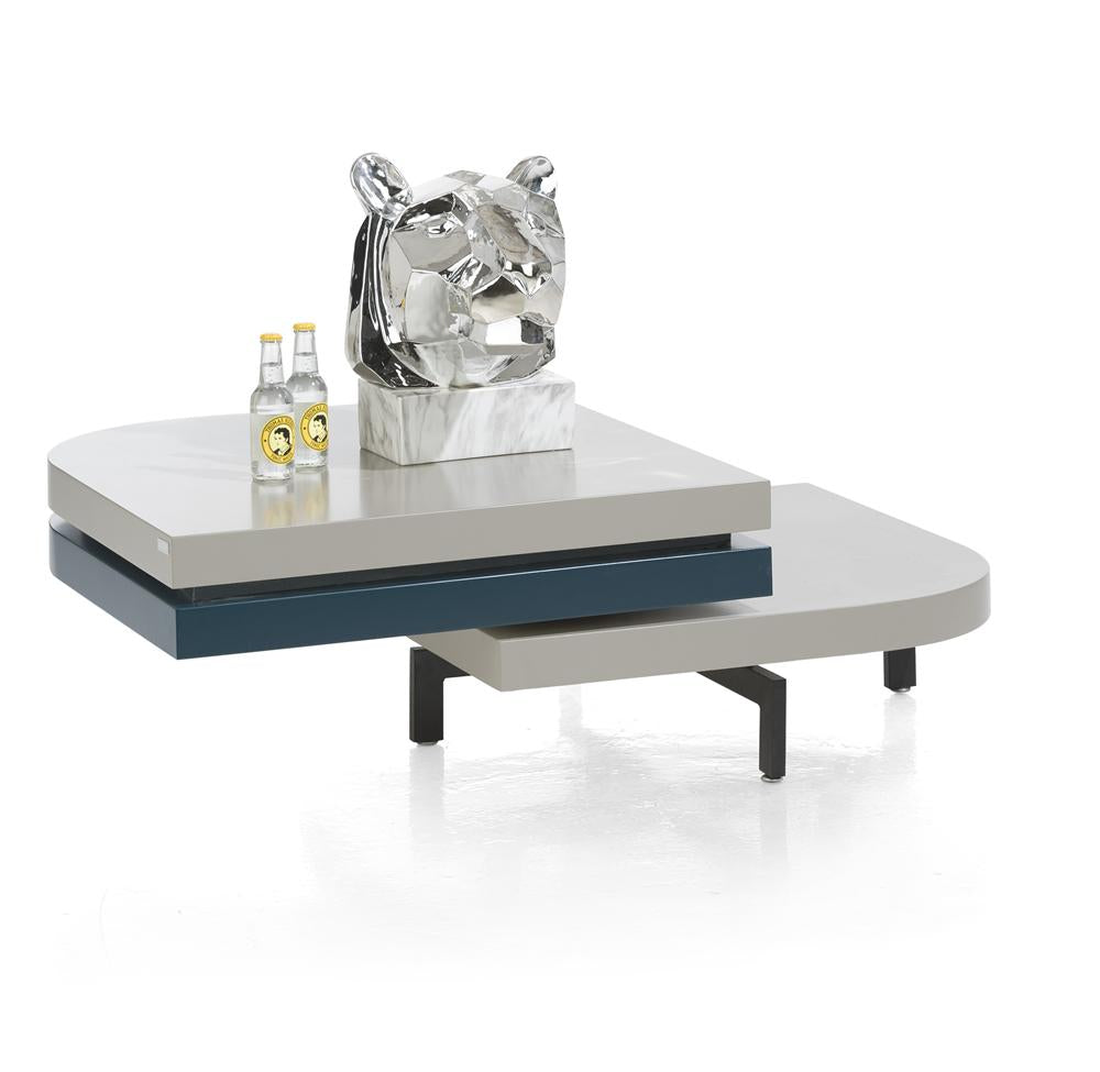 Habufa Lurano Coffee Table, Turntable Top