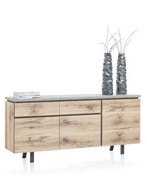 Habufa Myland Sideboard-sideboards-Against The Grain Furniture-2.30-Concrete-Against The Grain Furniture