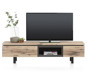 Habufa Myland TV Sideboard-TV sideboards-Against The Grain Furniture-1.80-Oak-Against The Grain Furniture