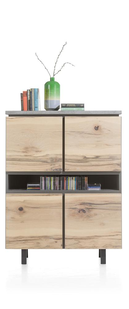 Habufa Myland Highboard-Highboard-Against The Grain Furniture-Against The Grain Furniture