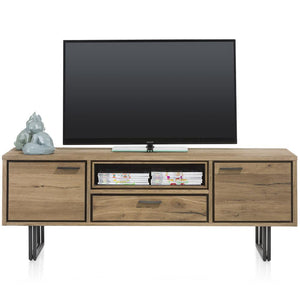 Habufa Denmark Lowboard TV Unit-Tv and Media Unit-Against The Grain Furniture-170cm-Against The Grain Furniture