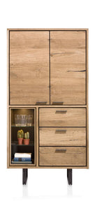 Habufa Denmark Highboard Cabinet-storage display cabinet-Against the Grain Furniture-Against The Grain Furniture
