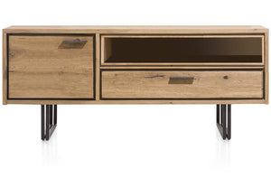 Habufa Denmark Lowboard TV Unit-Tv and Media Unit-Against The Grain Furniture-140cm-Against The Grain Furniture