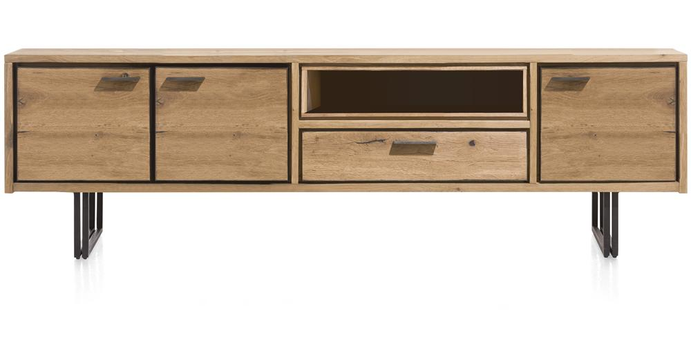 Habufa Denmark Lowboard TV Unit-Tv and Media Unit-Against The Grain Furniture-200cm-Against The Grain Furniture