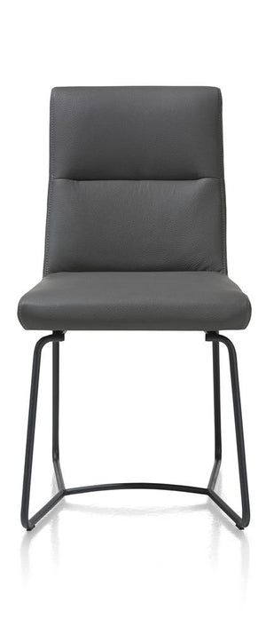 Habufa Grant dining chairs and bench-[Habufa Boston]-[Furniture Village- Boston]-Anthracite Chair-Against The Grain Furniture