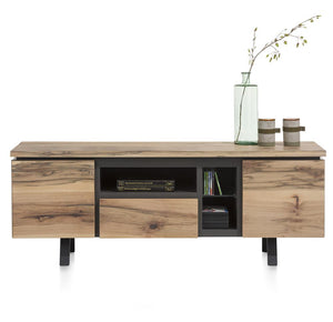 Habufa Myland TV Media Lowboard-TV lowboards-Against The Grain Furniture-1.60-Oak-Against The Grain Furniture