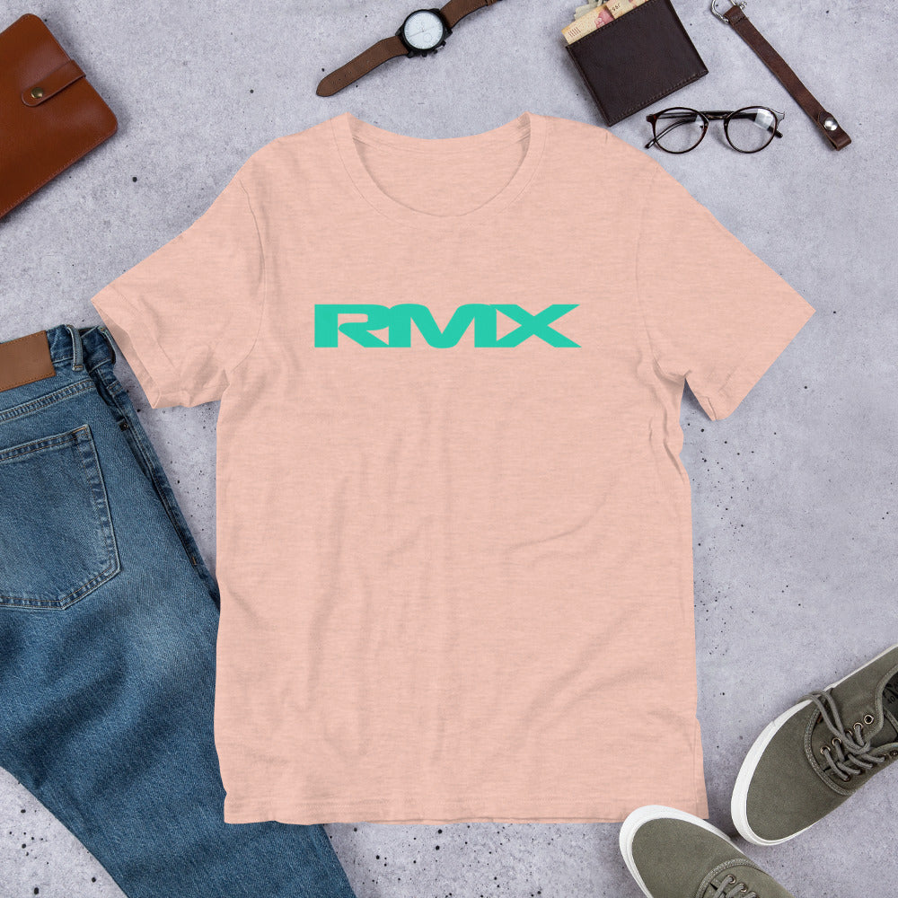 RMX Green Logo Short-Sleeve Unisex T-Shirt
