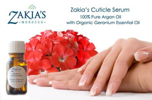 Argan Oil Cuticle Serum with Geranium Oil