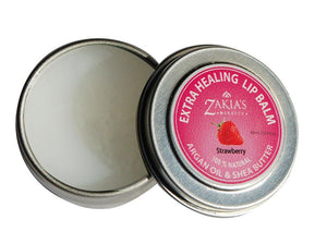 EXTRA HEALING Argan & Shea Lip Balm - Strawberry