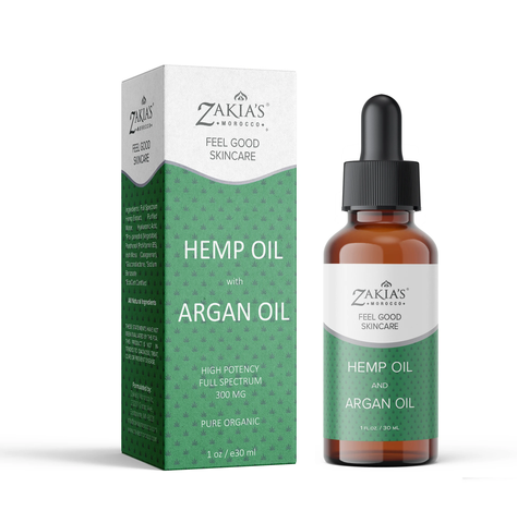ARGAN HEMP OIL