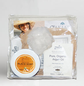 Argan Oil Bath & Body Gift Set - Orange Blossom