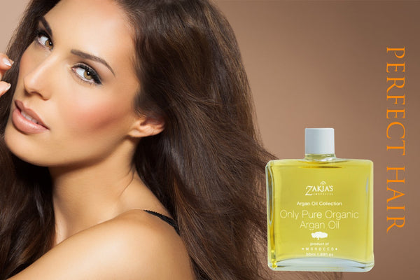 Argan Oil  -organic skin & hair treatment oil