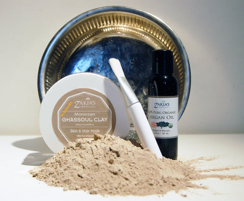 Zakia's Ghassoul Clay Mask Gift Set