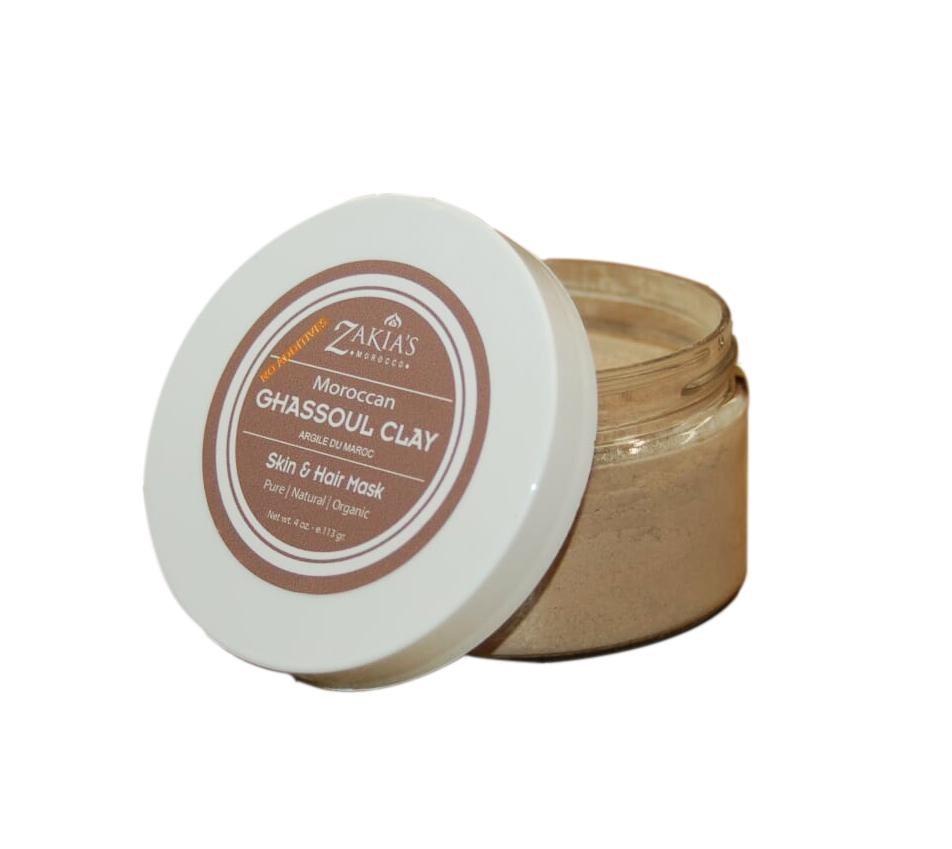 Ghassoul Clay Mask - 4 oz
