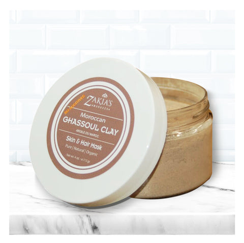 "Ghassoul ""rassoul"" Clay Mask   - 4 oz travel size"