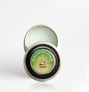 Open image in slideshow, EXTRA HEALING Argan & Shea Lip Balm - Vanilla Mint