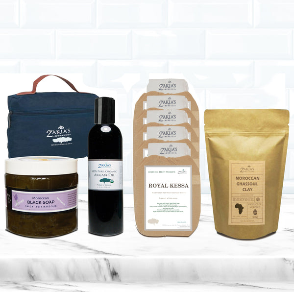 Supersize Hammam Spa & Bath Set - 8 Scents