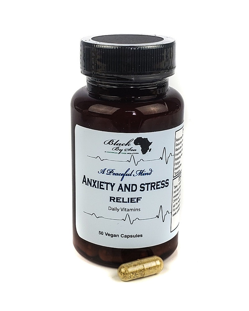A peaceful mind Anxiety supplement - Blackbysea