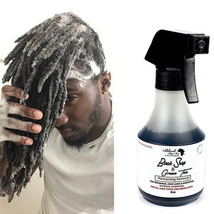 Black Soap and Apple cider vinegar shampoo - Blackbysea