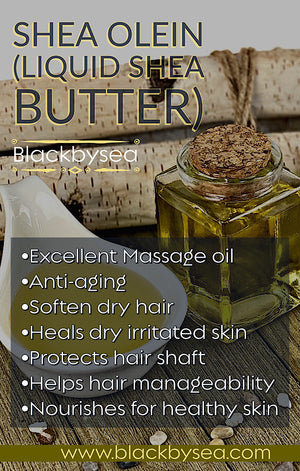 Shea Nut Oil (Liquid shea butter) - Blackbysea