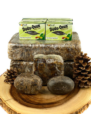 Dudu Osun Black Soap Acne and Eczema Bars - Blackbysea