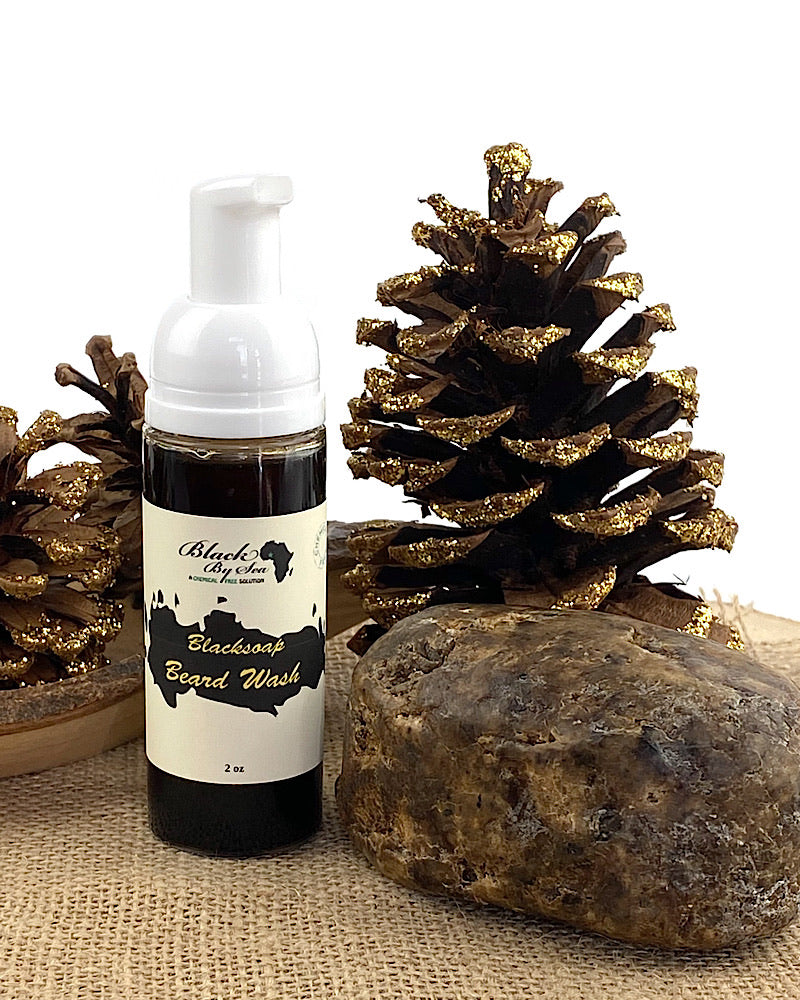 Black Soap Beard Wash - Blackbysea