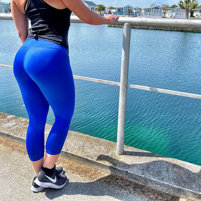 The Thandazani Legging- Blue Azure