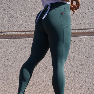 Thandazani Scrunch Legging w/pockets