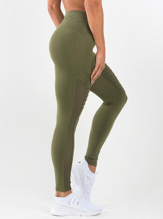 Apex Tights - Khaki