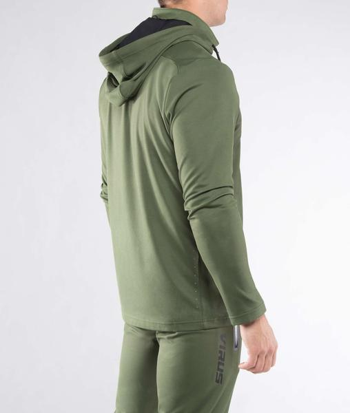 Au17 | BioCeramic™ BioFleet Training Full Zip Jacket | Olive Green