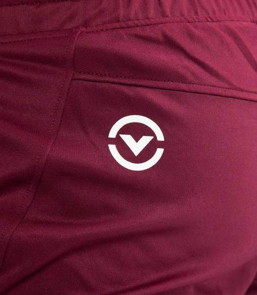 Au26 | BioCeramic™ IconX Performance Track Pants | Maroon/White UNISEX