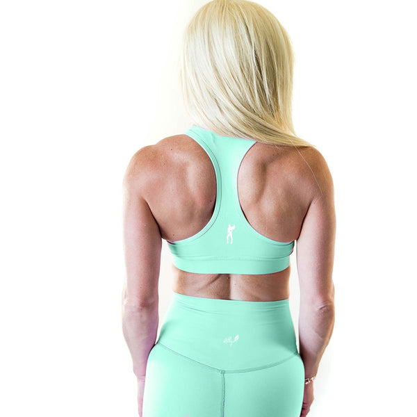ALLY COLLECTION WMNS CROP - TEAL