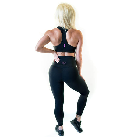 ALLY COLLECTION WMNS CROP - BLACK