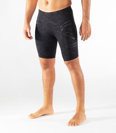 Au11 | BioCeramic™ Compression Shorts | Black Camo