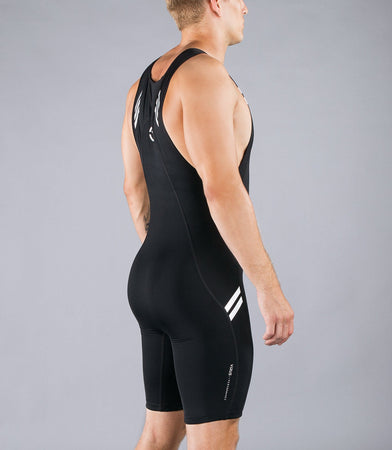 Au12 | BioCeramic™ ELEVATE Weightlifting Singlet | Black