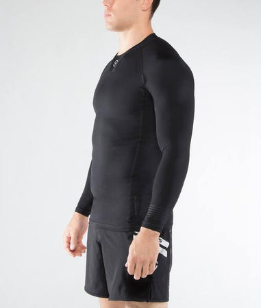 Co30 | CoolJade™ RANK Rashguard | Black/Black