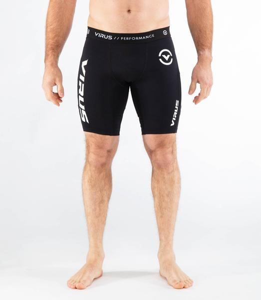 Co14.5 | CoolJade™ Compression Shorts | Black/White