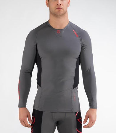 Co24 | CoolJade™ Performance Rashguard | Charcoal/Black