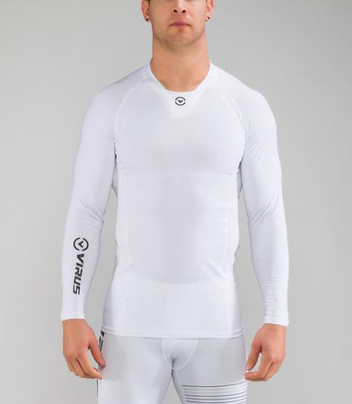 Co24 | CoolJade™ Performance Rashguard | White/Black