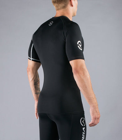 Co5 | CoolJade™ Short Sleeve Compression Top | Black