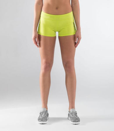 ECo22 | CoolJade™ DATA Compression Shorts | Lime Punch