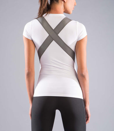 ECo11X | CoolJade™ X-Form Compression Top | White