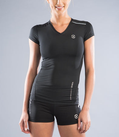 ECo6 | CoolJade™ Compression Top | Black