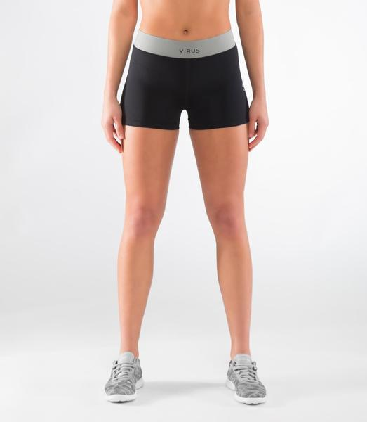 ECo48 | CoolJade™ RANGER Training Shorts | Black/Silver