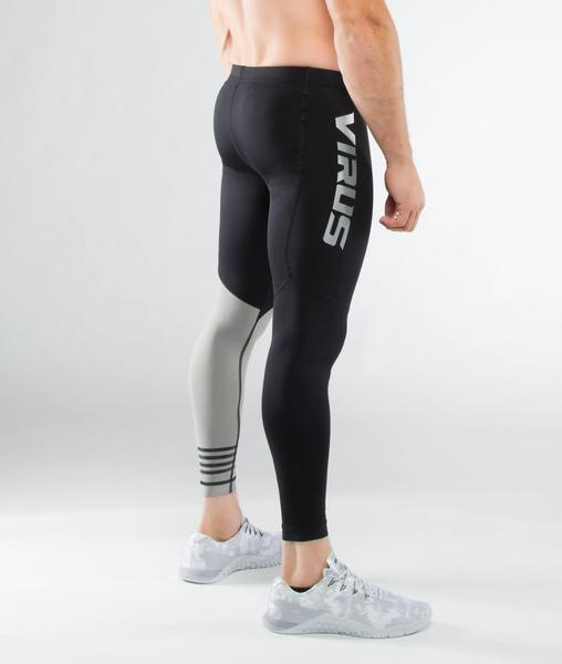 RX8 | CoolJade™ Compression Pants | Black/Silver