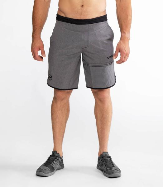 ST5 | VELOCITY Training Shorts | Heather Grey/Black