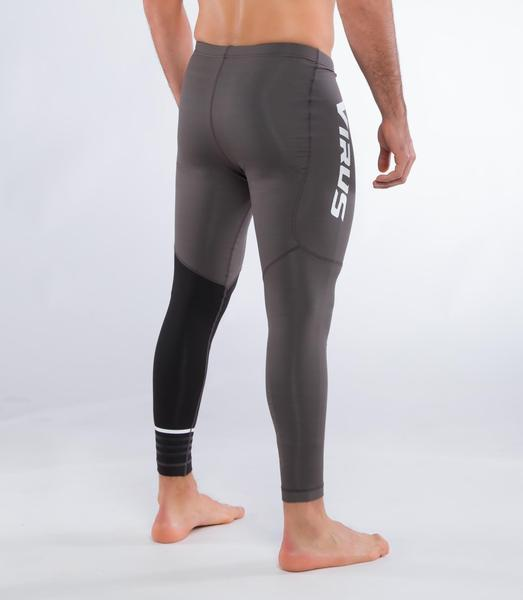 Sio8 | CoffeeChar™ thermal Compression Pants | Charcoal/Black