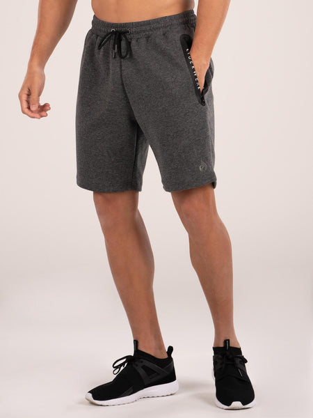 Armour Track Shorts - Charcoal Marle